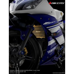 Stainless Titanium Coating Radiator Guard Bikers Yamaha YZF R15