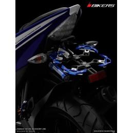 Support de Plaque Immatriculation Réglable Bikers Yamaha YZF R15