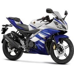 Set Marks Blue 2014 Yamaha YZF R15