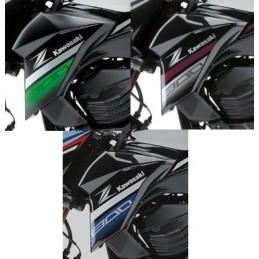 Kit Stickers 2016 Flanc Avant Gauche Kawasaki Z800