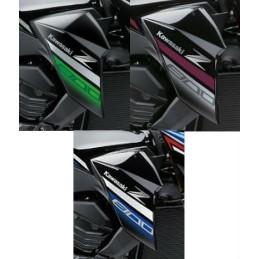 Kit Stickers 2016 Flanc Avant Droit Kawasaki Z800