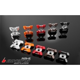 Rear Adjuster Plates Bikers Kawasaki KSR 110