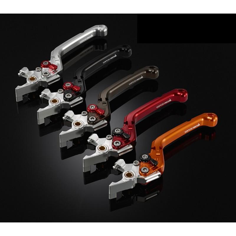 Premium Folding Adjustable Brake Lever Left Bikers Honda Sh125 / Sh150i