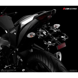 Adjustable License Plate Support Bikers Yamaha MT-03 / MT-25