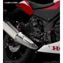 Rear Footrest Set Bikers Honda CB300F CBR300R