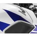 Autocollant Avant Droit Reservoir Honda CBR300R Bicolor Blanc/Rouge