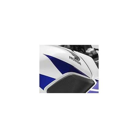 Stripe Front Right Fuel Tank Honda CBR300R Bicolor White/Red