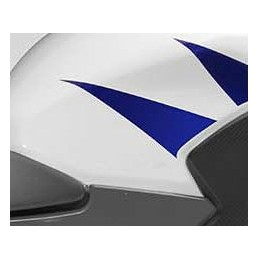 Stripe Rear Right Fuel Tank Honda CBR300R Bicolor White/Red