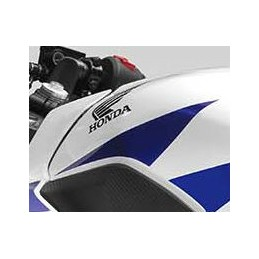 Stripe Front Left Fuel Tank Honda CBR300R Bicolor White/Red