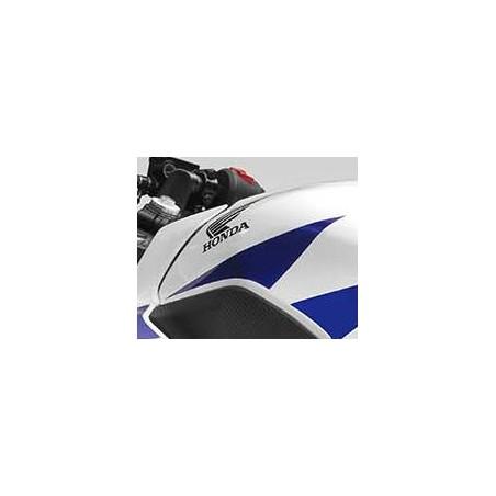 Autocollant Avant Gauche Reservoir Honda CBR300R Bicolor Blanc/Rouge
