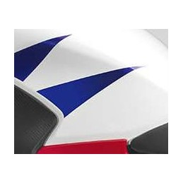 Stripe Rear Left Fuel Tank Honda CBR300R Bicolor White/Red