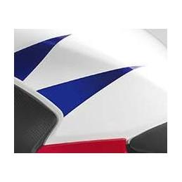 Stripe Rear Left Fuel Tank Honda CBR300R Bicolor White/Red