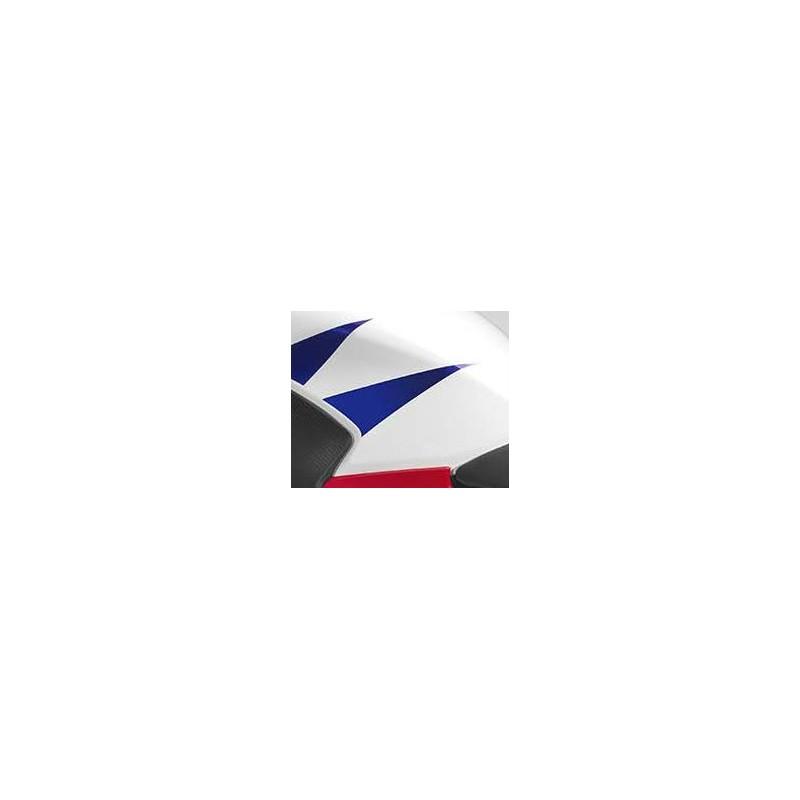Autocollant Arrière Gauche Reservoir Honda CBR300R Bicolor Blanc/Rouge