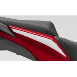Stripe Rear Right Cover Honda CBR300R Bicolor White/Red