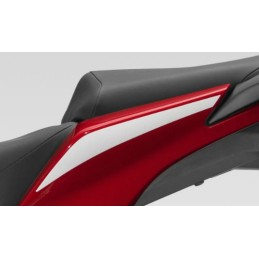 Stripe Rear Left Cover Honda CBR300R Bicolor White/Red