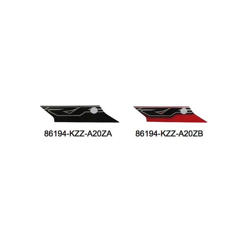 Autocollant Flanc Gauche Honda CRF 250M