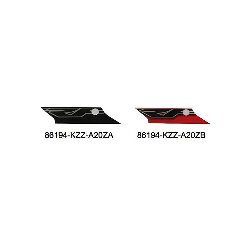Stripe Shroud left Honda CRF 250M