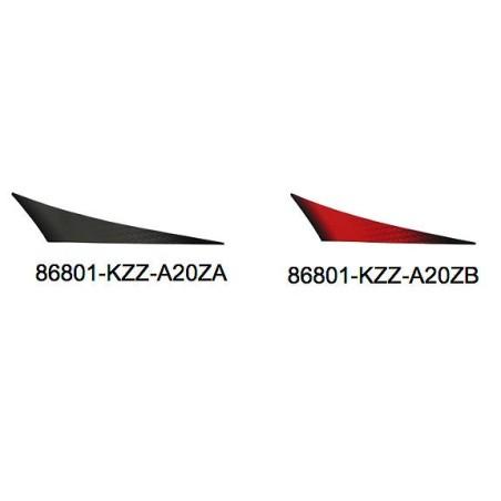 Autocollant Droit Garde Boue Arrière Honda CRF 250M 2013