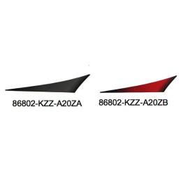 Autocollant Gauche Garde Boue Arrière Honda CRF 250M 2013