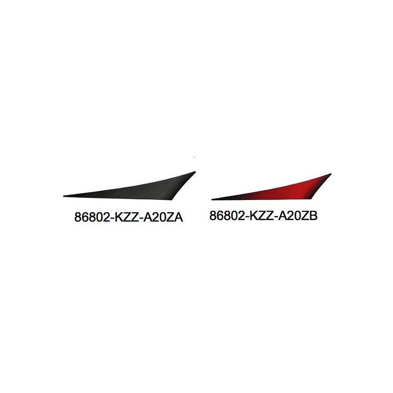 Autocollant gauche Garde boue arrière Honda CRF 250M