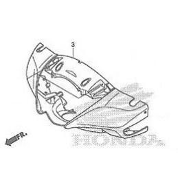 Carénage Contour Optique Honda SH125i / SH150i