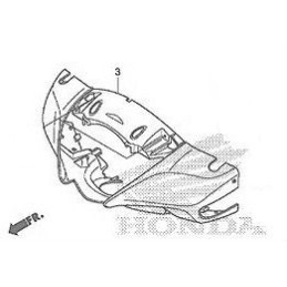 Carénage Contour Optique Honda Sh125 / Sh150