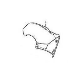 Carénage Contour Compteur Honda Sh125 / Sh150