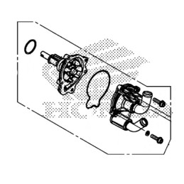 Pompe à Eau Honda CBR 650F