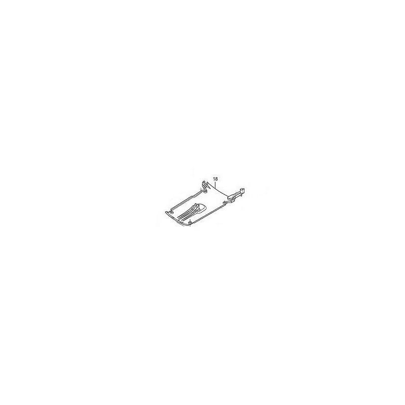 Plastique Inférieur Central Honda Sh125 / Sh150