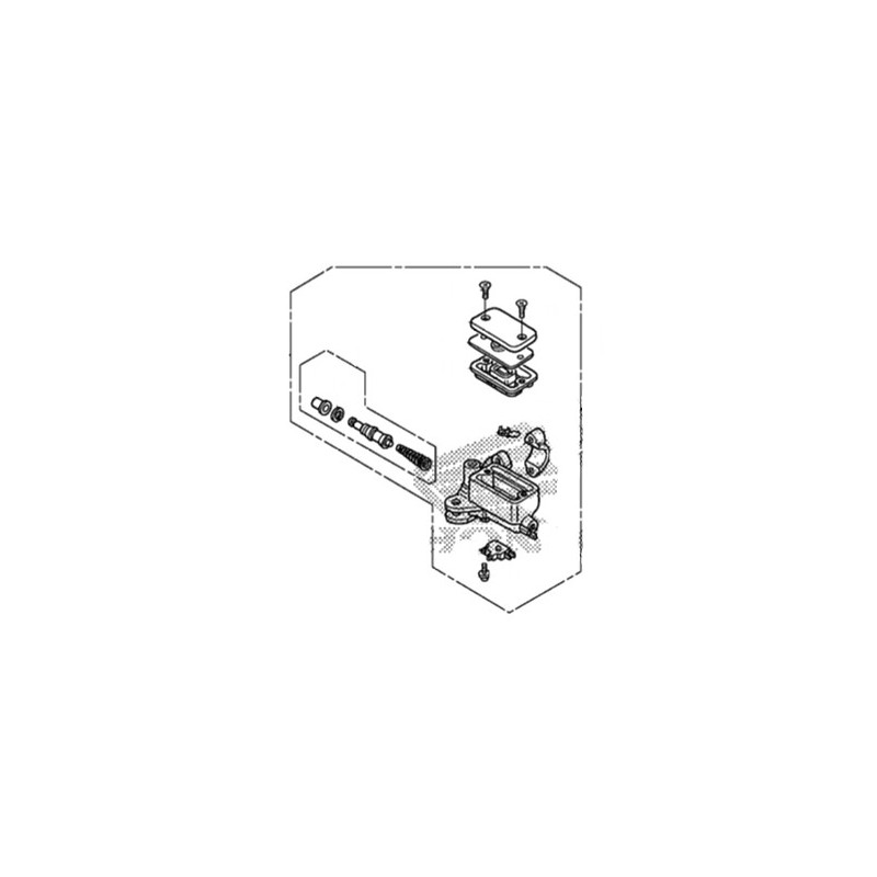 2604 Master Cylinder Front Brake Honda Cb500xon 2015 Yamaha R1