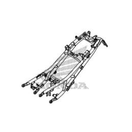 Rear Frame Rail Seat Honda CB500X