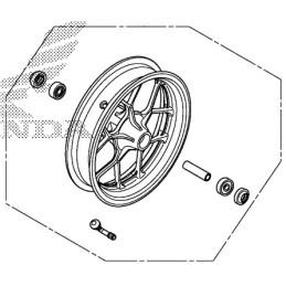Front Wheel Honda MSX GROM 125SF