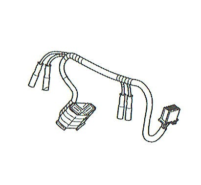 Wiring Harness Headlight Honda Msx Grom 125sf 32101 K26 B00